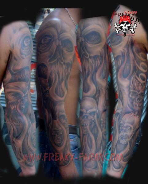 full sleeve tattoos. full sleeve tattoo gallery.