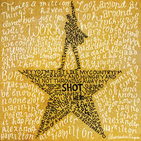 Hamilton the Musical by CaliAli16