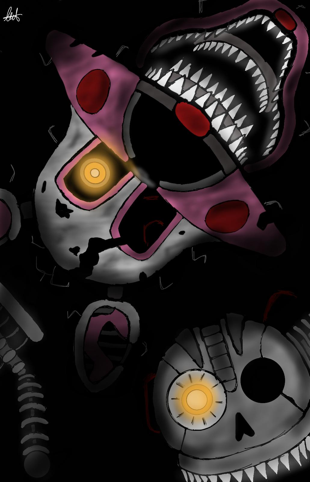 FNAF 4 (Halloween Edition) Nightmare Mangle by RubyRose10 on ...