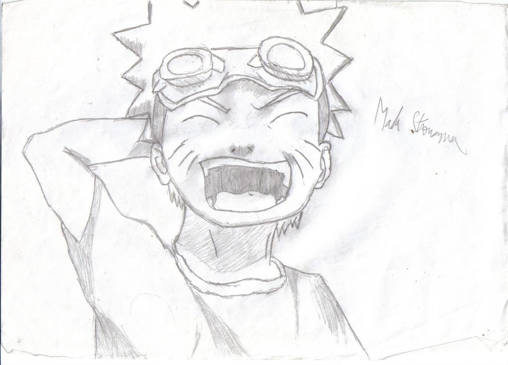 Uzumaki Naruto Pencil Drawing by Idiotmaniac on DeviantArt  Naruto Drawings In Pencil Easy