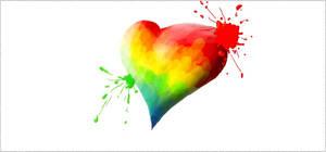 Graffiti App - Colored Heart