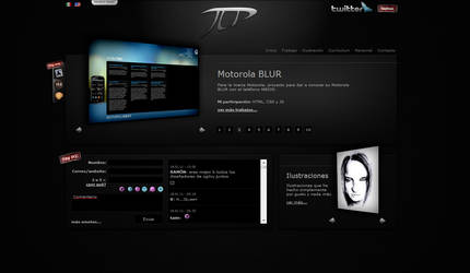 My Personal Website Skin01