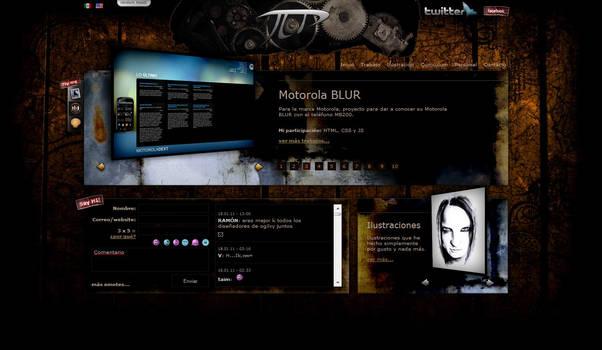 My Personal Website Skin02