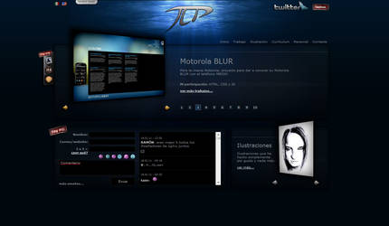 My Personal Website Skin03