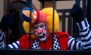 Sad clown by vampipe