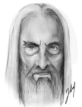 Saruman - Christopher Lee