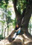 Me on Deku Tree