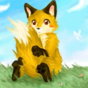 Cutesy Fox Thing by Blargh