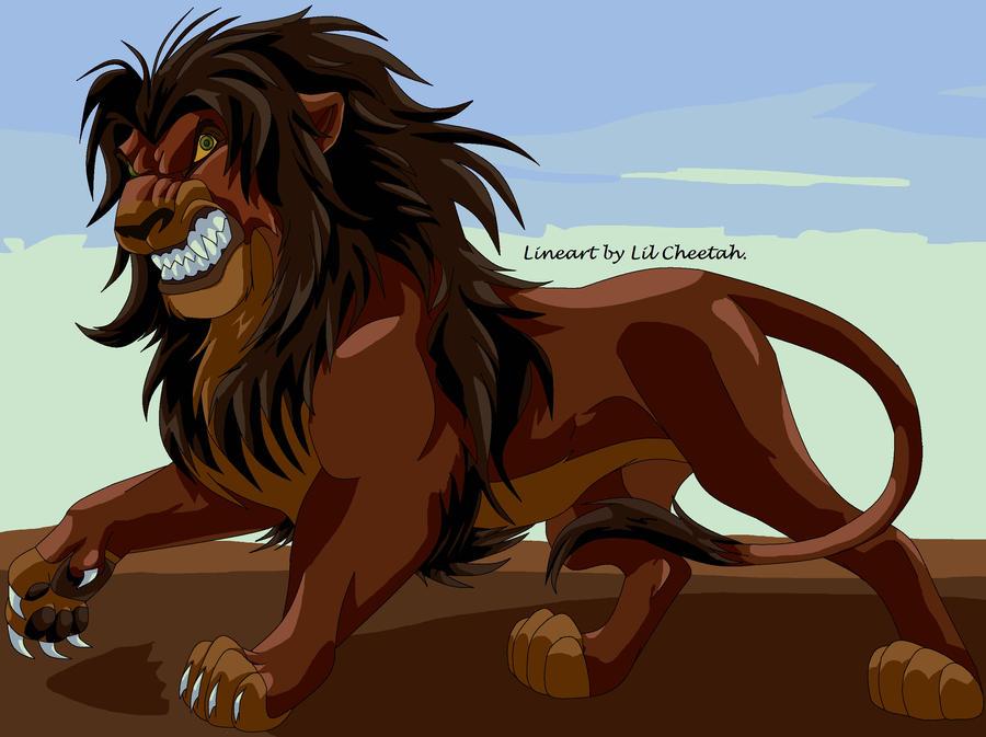 Image Gallery Lion Anime Art
