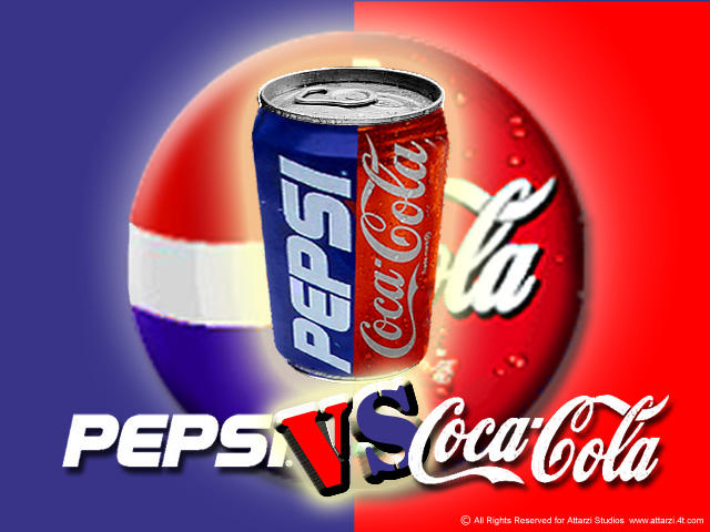 Pepsi vs. Coca-Cola Logo Evolution