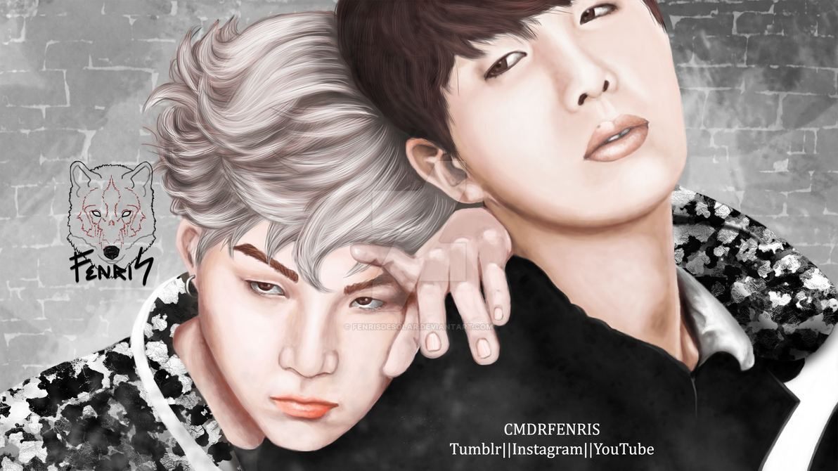 YoonSeok by FenrisDeSolar