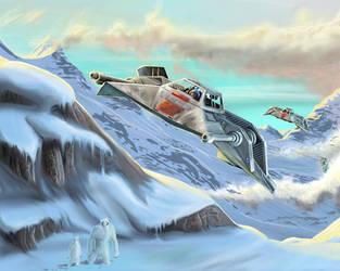 Hoth Patrol by pyraker