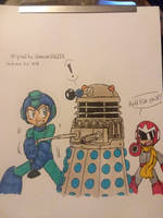 (for General-RADIX) Mega Man vs. Dalek