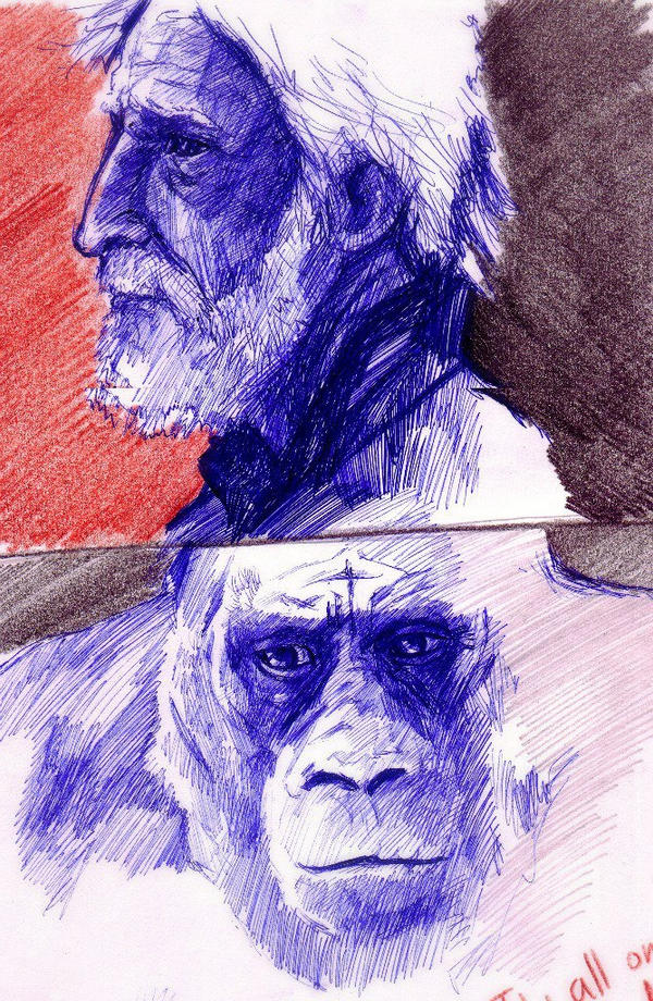 twooldapes by r-o-man