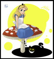 Alice by AonikaArt