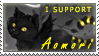 Support stamp by Aomori