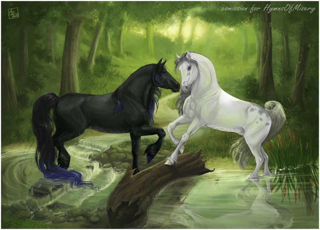 Deviantarts Robot Horse: Hymns By Aomori On DeviantArt