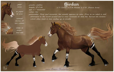 Cirdan - refeence sheet by AonikaArt