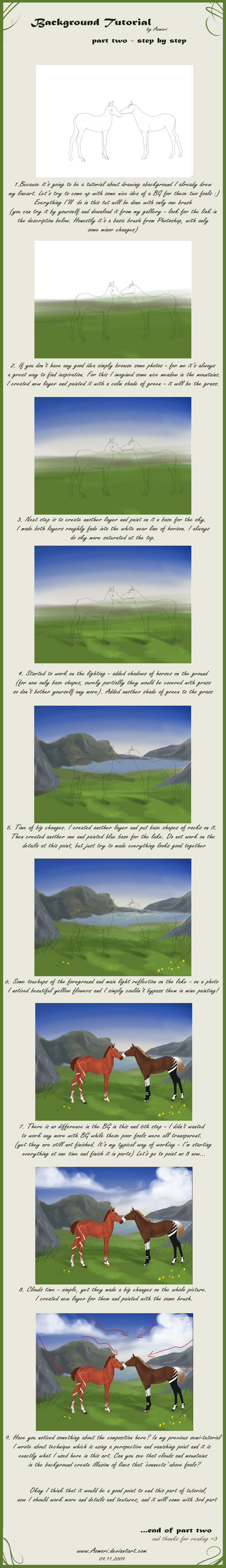 Background tutorial - part 2 by Aomori