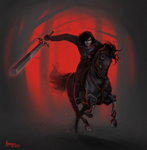 Charging Death by AonikaArt