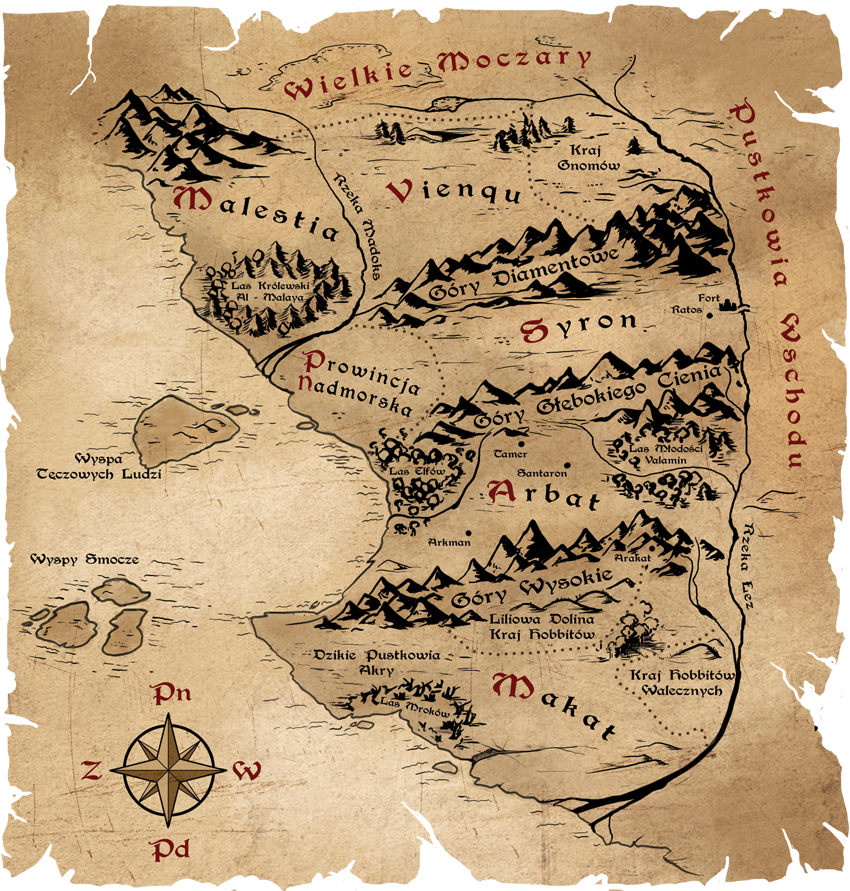 Old map by Aomori on DeviantArt