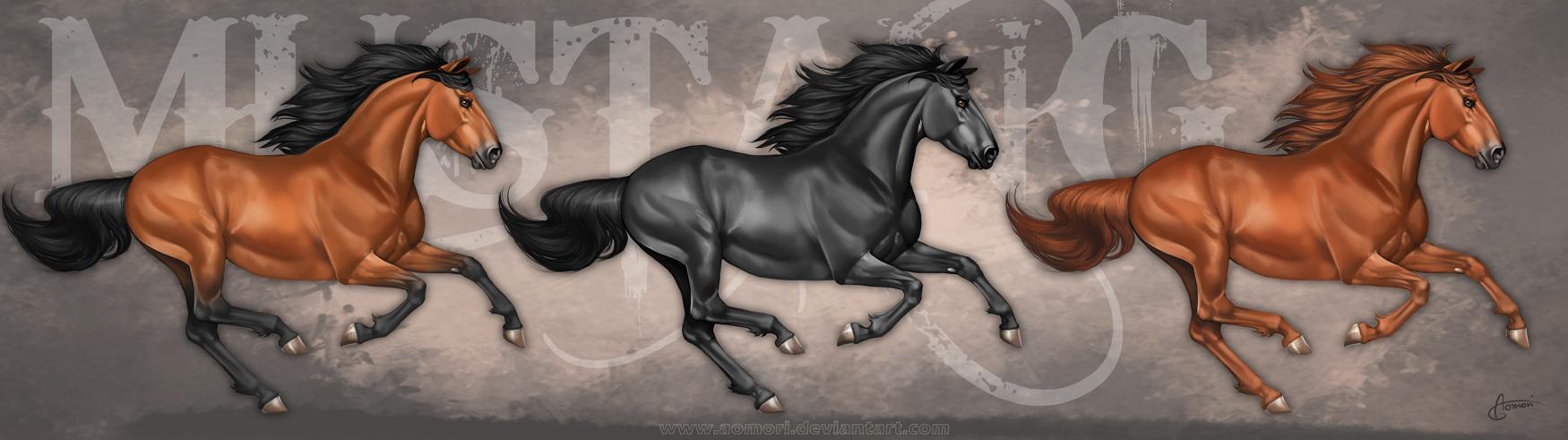 Mustang - final artwork by Aomori