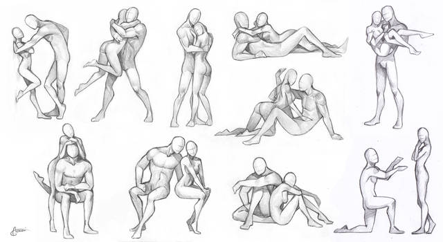 Couples - poses chart