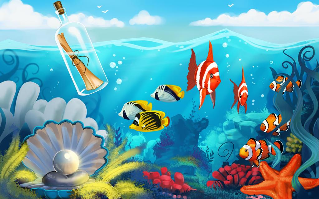 Showing gt Underwater Drawings