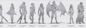 Chaos Edge - character concepts - UPDATED
