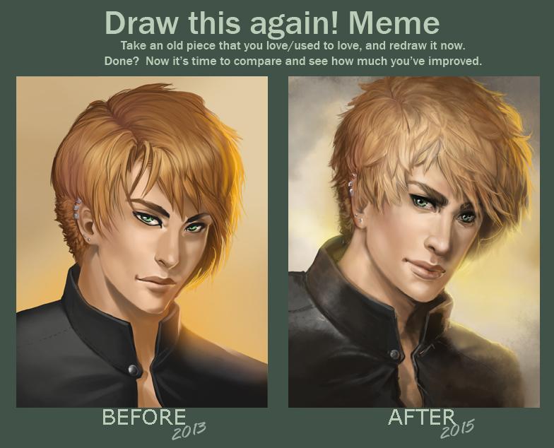 Draw This Again - Meme by Aomori