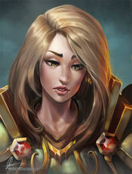 Tastrix portrait by AonikaArt