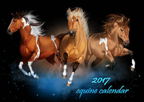 Happy New Year - and an equine calendar by AonikaArt