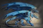 Cosmos the blue dragon