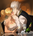 Champagne kiss
