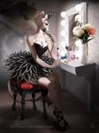 [patreon artwork] Black Swan