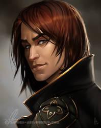 Arvel portrait by AonikaArt
