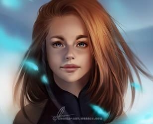 Cannetille - portrait by AonikaArt