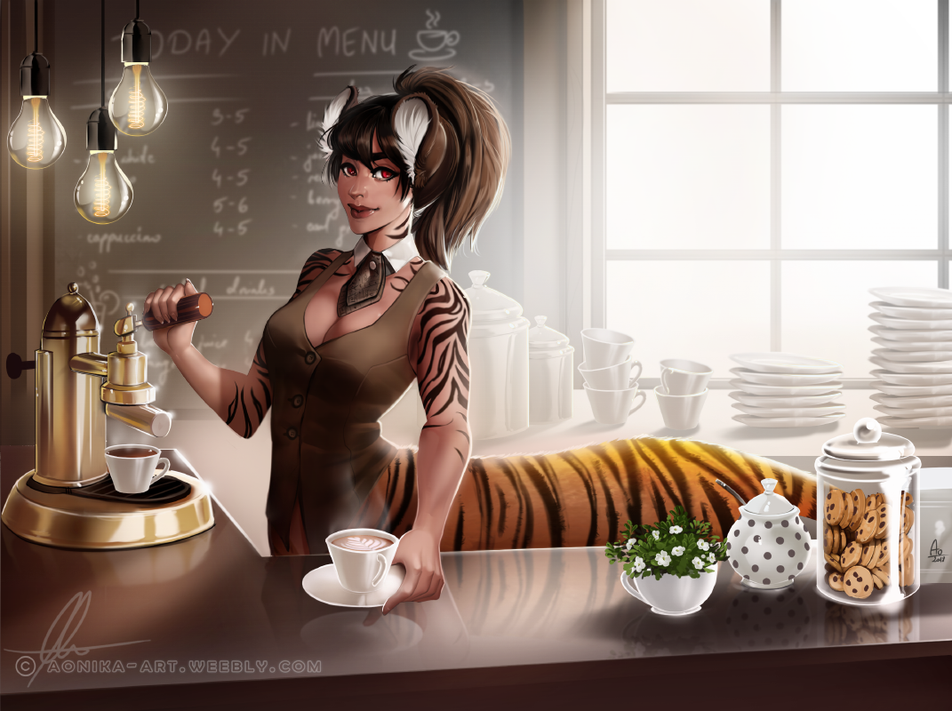 Purrista by AonikaArt