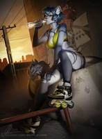 [YCH] Skater Girl by AonikaArt