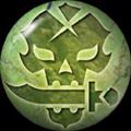 Pin 048- Poison Skull by NekuxShiki