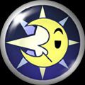 Pin 060- Lightning Moon by NekuxShiki