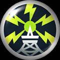 Pin 075- Electric Warning by NekuxShiki