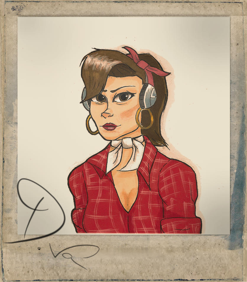 D.va'sold autograph by Aless98