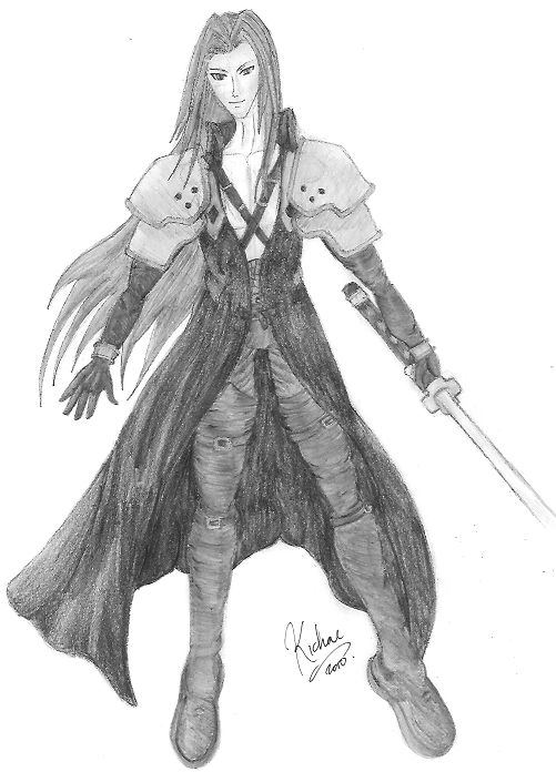 Sephiroth - Commission by Kichai