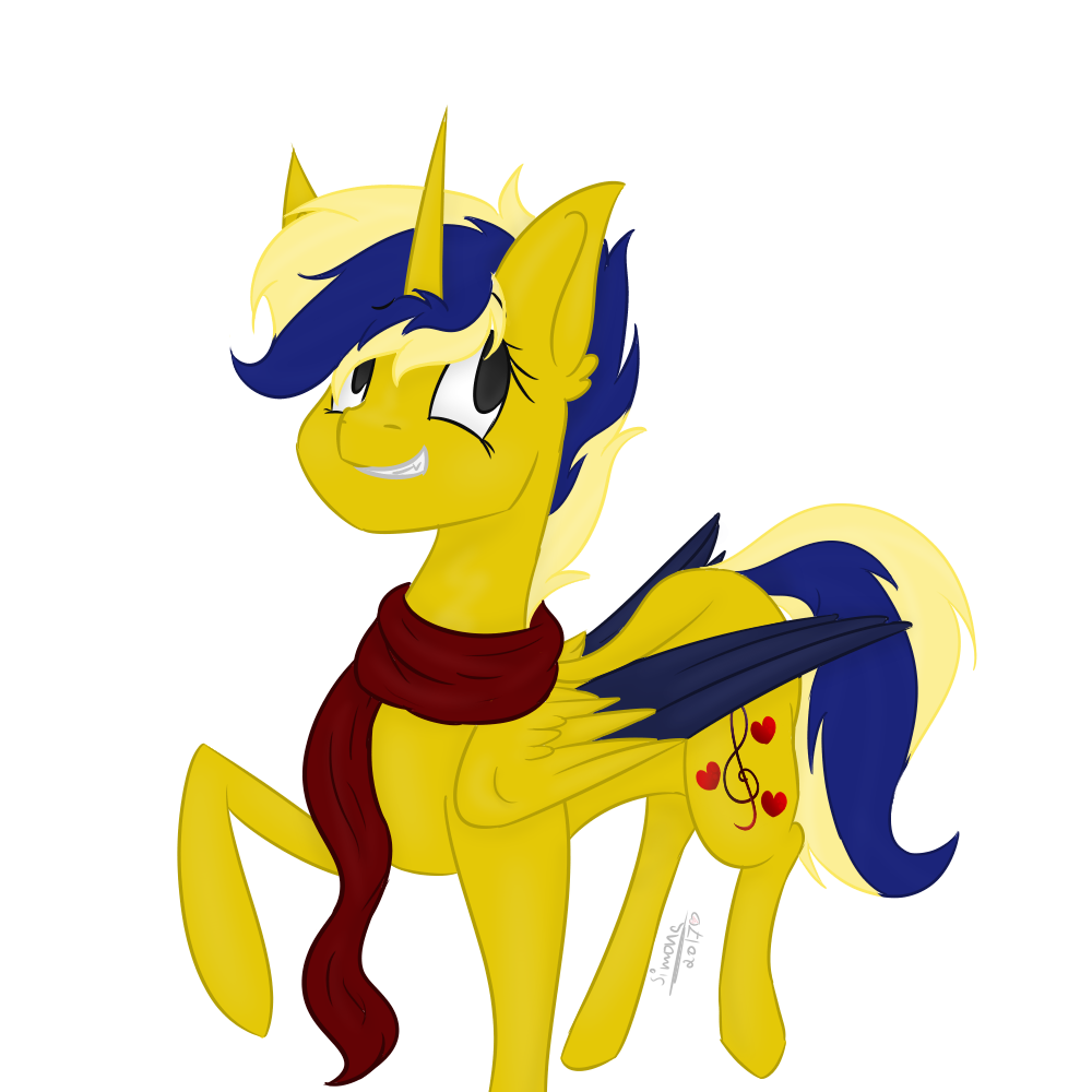 ShadowBlade  ~Art Trade ~  (Fixed uncolored parts) by LilSimona