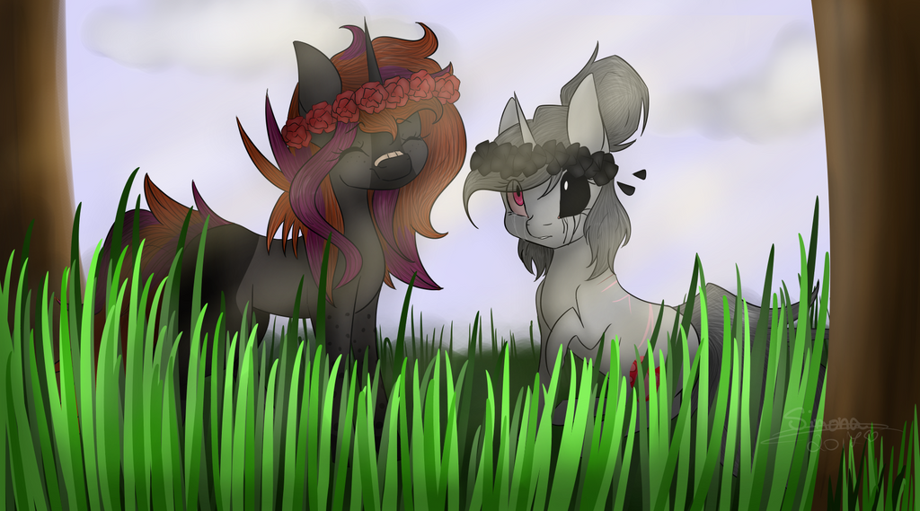 Flowers ~Birthday Gift UwU~ by LilSimona