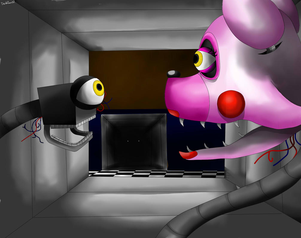 Mangle five nights at freddy s 2 by darkpencil1 on deviantart