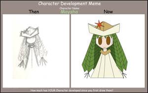Development Meme: Maysha by OverChasm