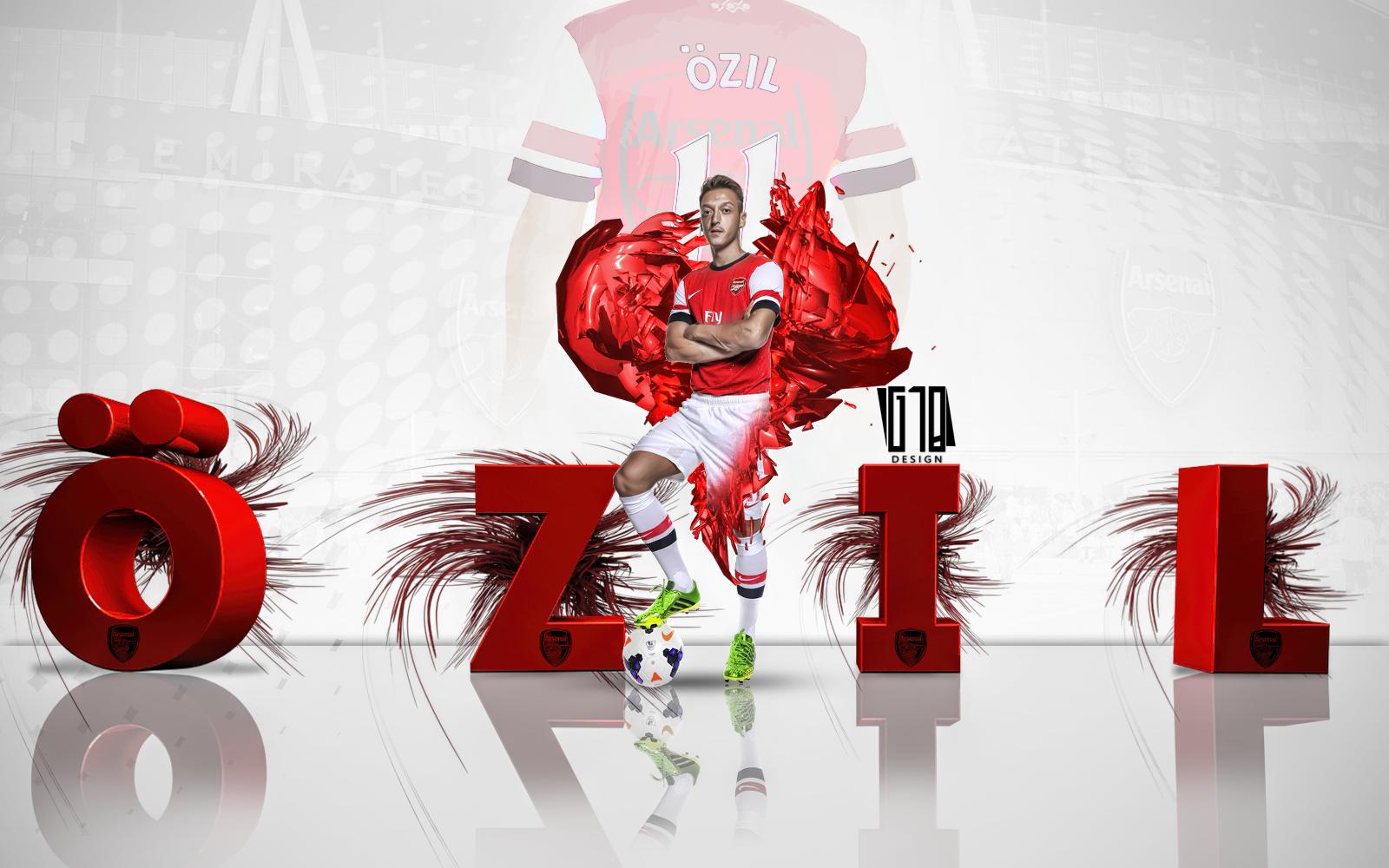 Ozil Arsenal. By Gustabinho10 On DeviantArt