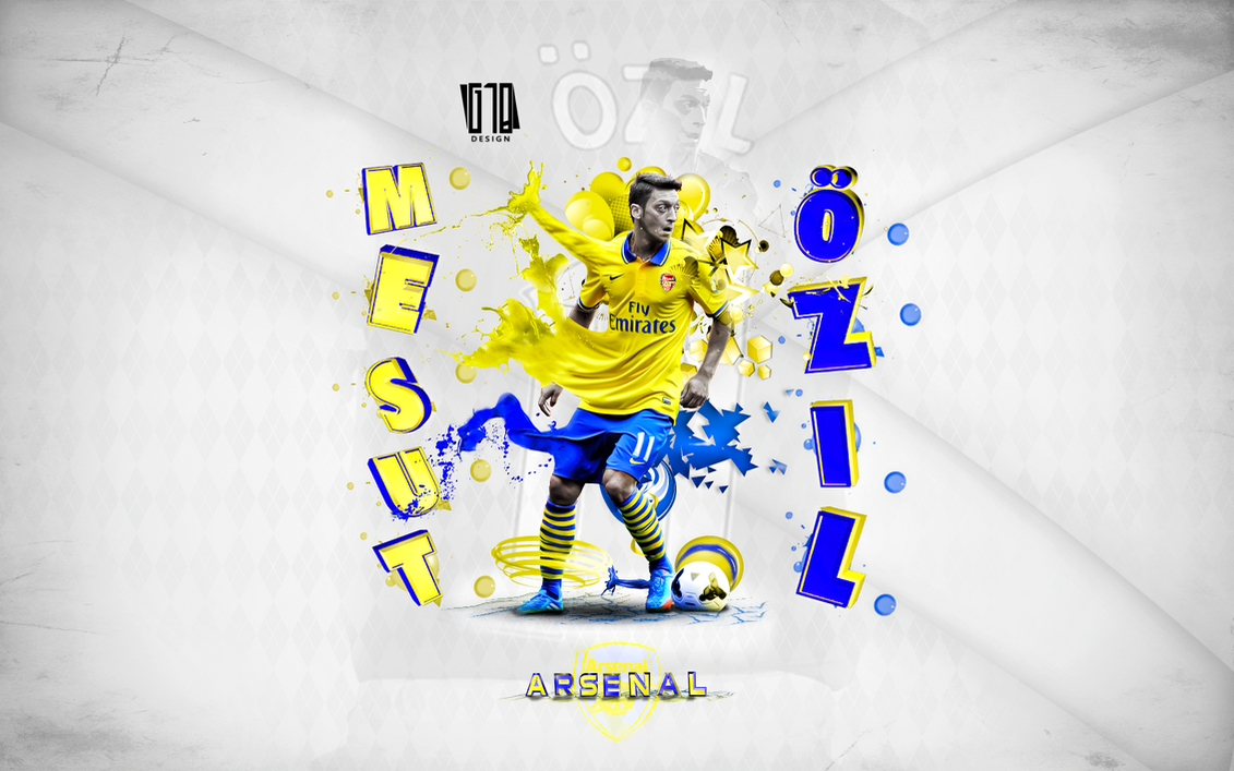 Mesut Ozil By Gustabinho10 On DeviantArt